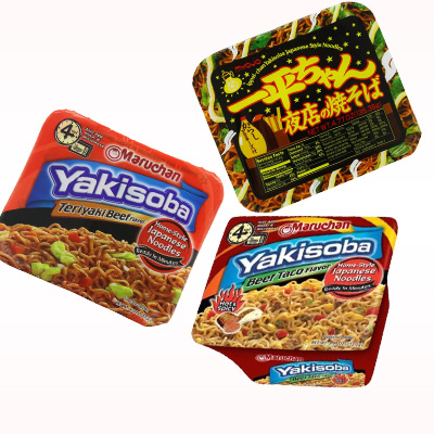 Instant Yakisoba Calories (523Cal/120g) and Nutrition ...