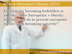 What is Sarcopenic Obesity (SO)?