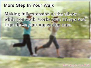 More Step In Your Walk