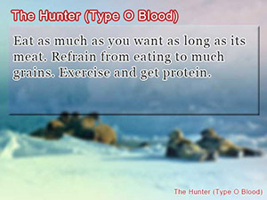 The Hunter (Type O Blood)
