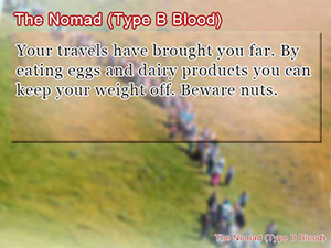 The Nomad (Type B Blood)