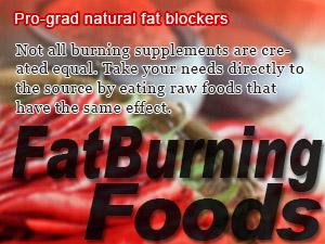 Pro-grad natural fat blockers