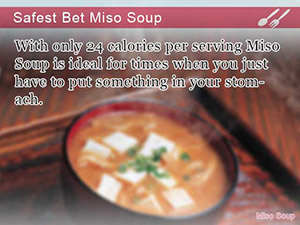 Safest Bet Miso Soup