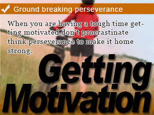 Ground breaking perseverance