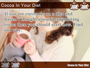 Cocoa In Your Diet