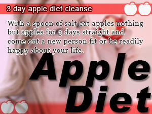 Apple Diet For Challenging The 3 Day Weight Loss Cleanse Slism