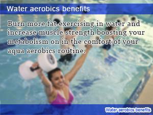 Water aerobics benefits