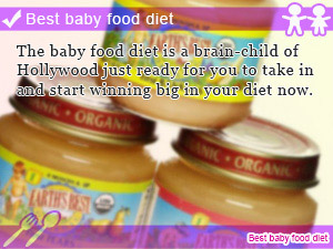Best baby food diet