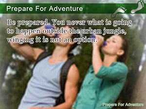 Prepare For Adventure