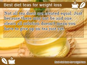 Best diet teas for weight loss