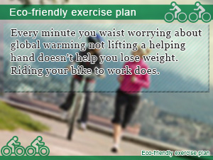 Eco-friendly exercise plan