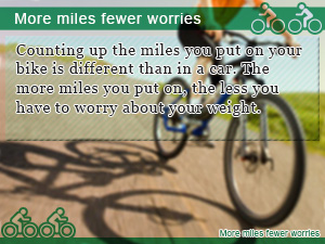 More miles fewer worries