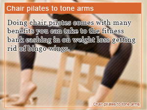 Chair pilates to tone arms