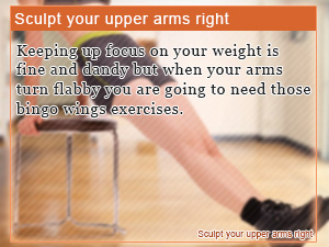 Sculpt Your Upper Arms Right