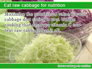 Can you eat uncooked cabbage