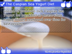 The Caspian Sea Yogurt Diet