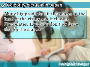 Celebrity diet talk in Japan