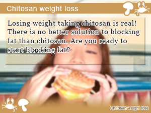 Chitosan weight loss
