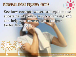 Nutrient Rich Sports Drink