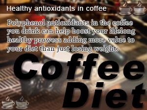 Healthy antioxidants in coffee