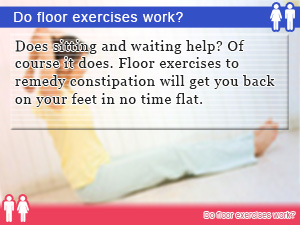 Do floor exercises work?