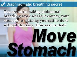 Diaphragmatic breathing secret
