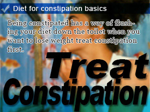 Diet for constipation basics