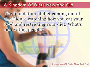 A Kingdom Of Diets New And Old