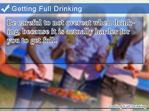 Getting Full Drinking