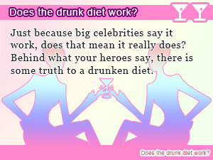 Does the drunk diet work?