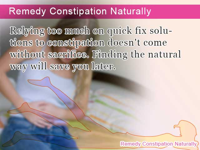Remedy Constipation Naturally
