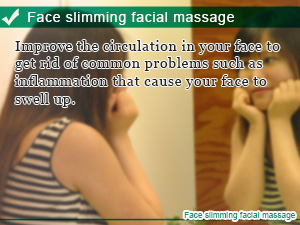 Face slimming facial massage