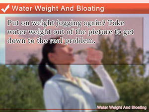Water Weight And Bloating