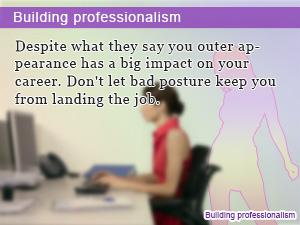Building professionalism