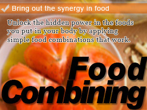 Bring out the synergy in food