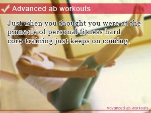 Advanced ab workouts