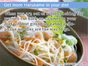 Get more Harusame in your diet