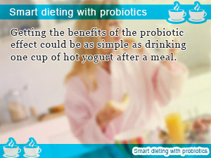 Smart dieting with probiotics