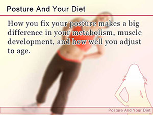 Posture And Your Diet