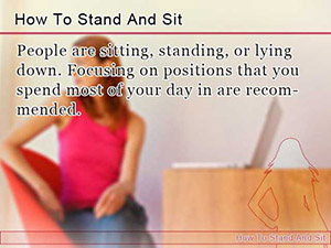 How To Stand And Sit