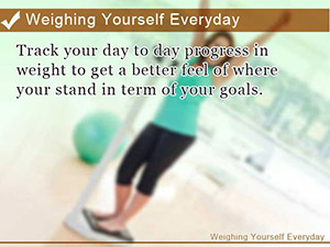 Weighing Yourself Everyday