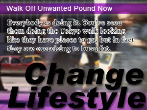 Walk Off Unwanted Pound Now