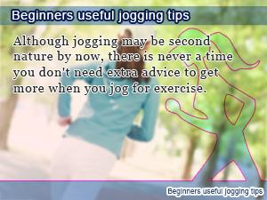Beginners useful jogging tips
