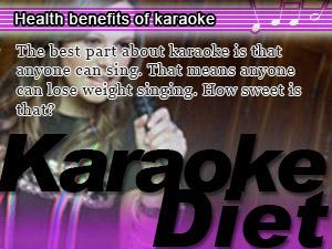 Health benefits of karaoke