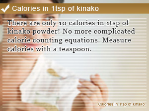 Calories in 1tsp of kinako