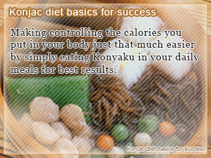 Konjac diet basics for success