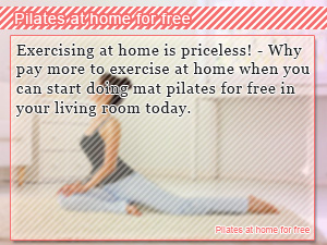 Pilates at home for free