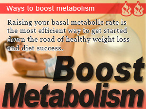 Ways to boost metabolism