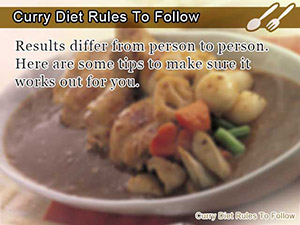 Curry Diet Rules To Follow