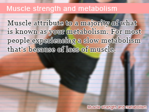 Muscle strength and metabolism